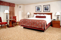 Image of Harrah hotel room